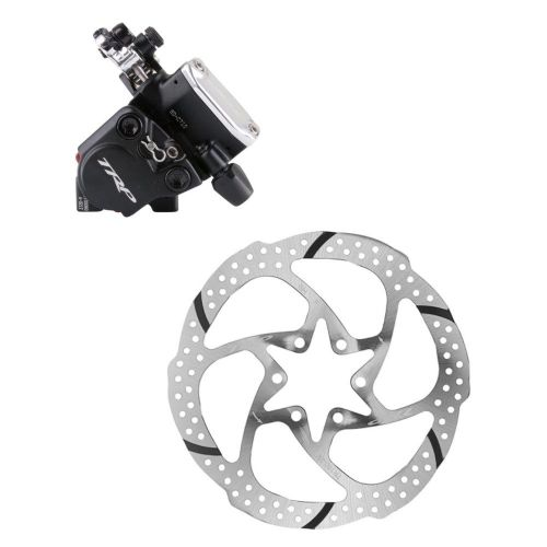 TRP HY-RD Disc Brake - Flat Mount with 160mm Rotor